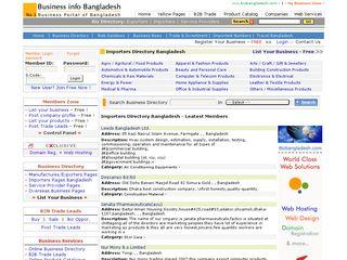 Bangladesh Importer   BDHOME Web Directory